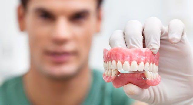 протезирование зубов превью